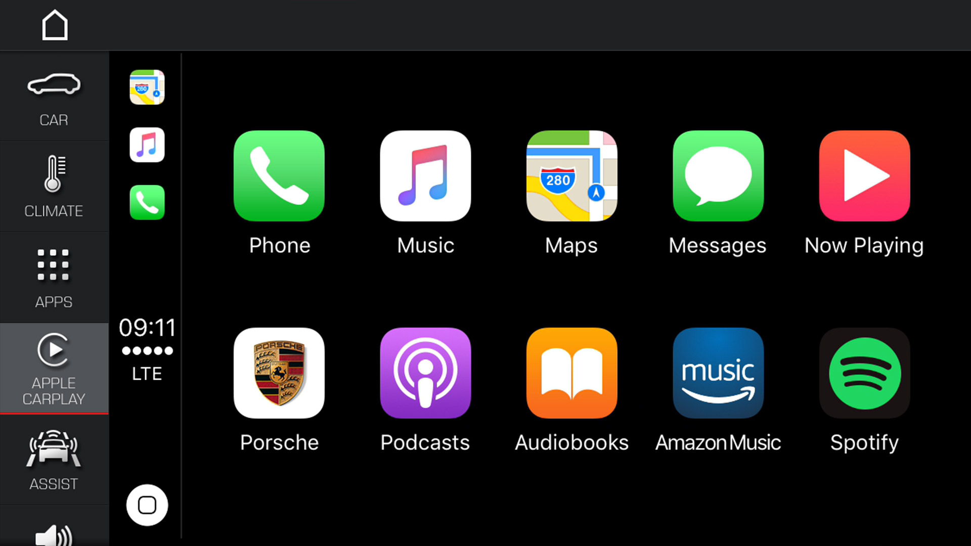 Porsche Cayenne - Apple® CarPlay