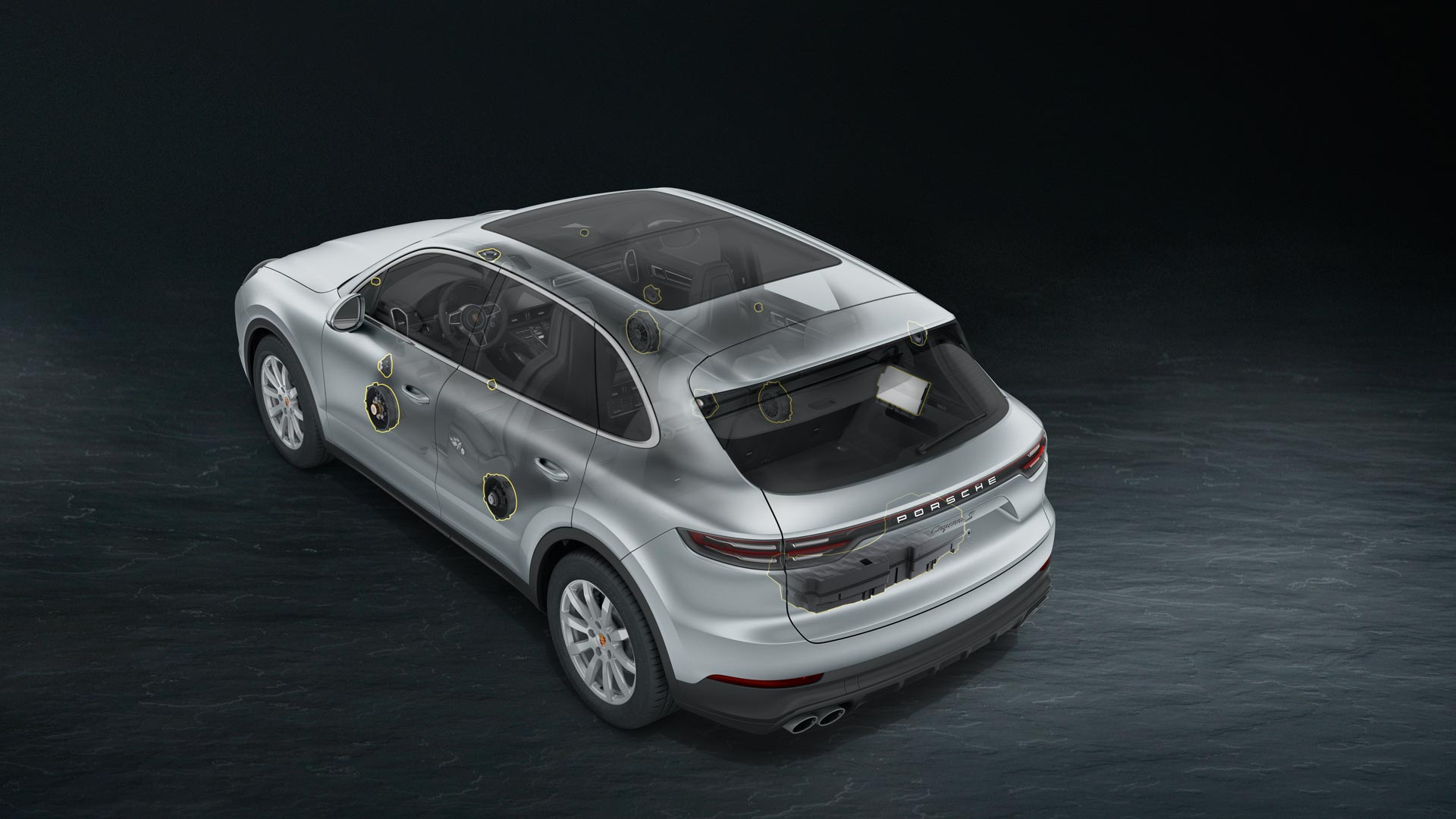 Porsche Cayenne - BOSE® Surround Sound-System